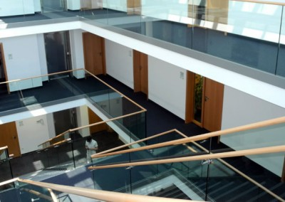 Atrium von oben